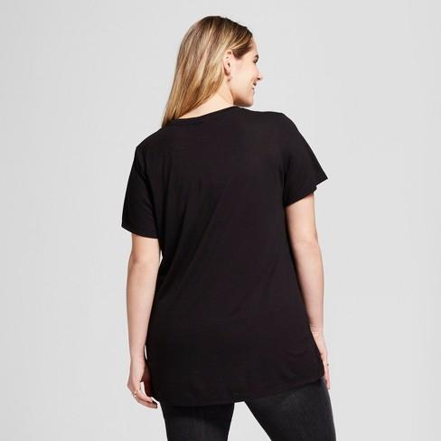 3c52c762de8 Women s Game Of Thrones Plus Size Winter Is Here Short Sleeve T-Shirt  (Juniors ) Black   Target