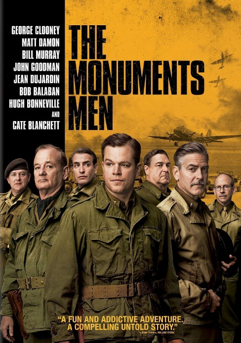 Monuments Men (Includes Digital Copy) (UltraViolet) (dvd_video) - image 1 of 1