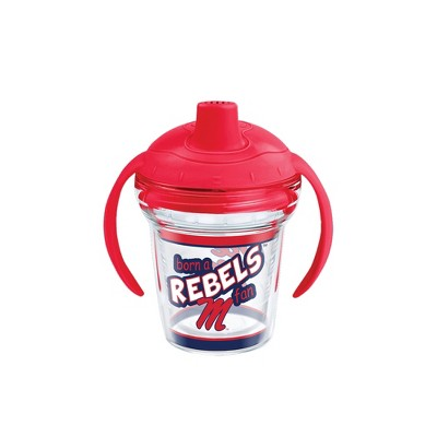 Tervis Mississippi Ole Miss Rebels Born A Fan 6oz Sippy Cup with Lid