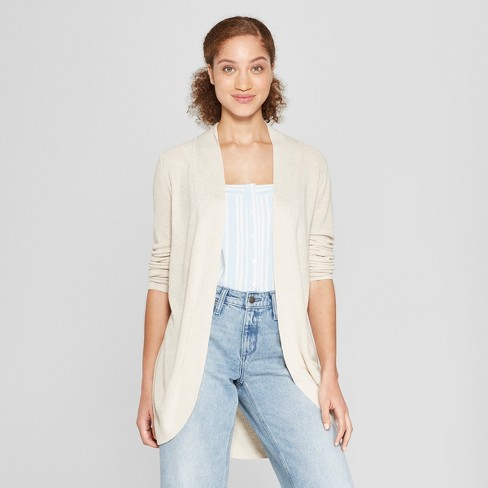 2ace3051c6 Women s Cocoon Cardigan - A New Day™ Cream XXL   Target