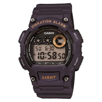 Casio Men's Digital Strap Watch - Blue (W735H-2AVCF)