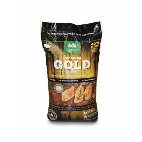 Green Mountain Grills GMG-2001-GOLD Premium Gold Blend Pure Hardwood Pellets - image 1 of 4