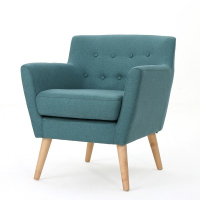 Meena Buttoned Mid-Century Club Chair - Christopher Knight Home