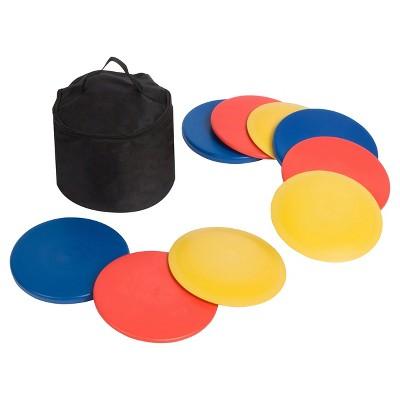 Trademark Innovations Disc Golf Set with Disc Golf Bag (Set of 9 Discs)