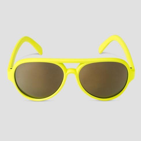 9e0b4ee65 Boys' Neon Sunglasses - Cat & Jack™ Yellow : Target