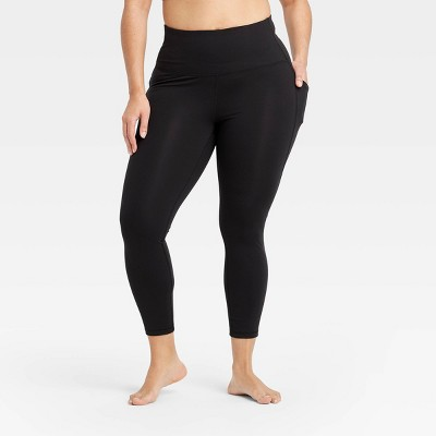 "Women's  Contour Curvy High-Waisted Leggings with Power Waist 24"" - All in Motion™"