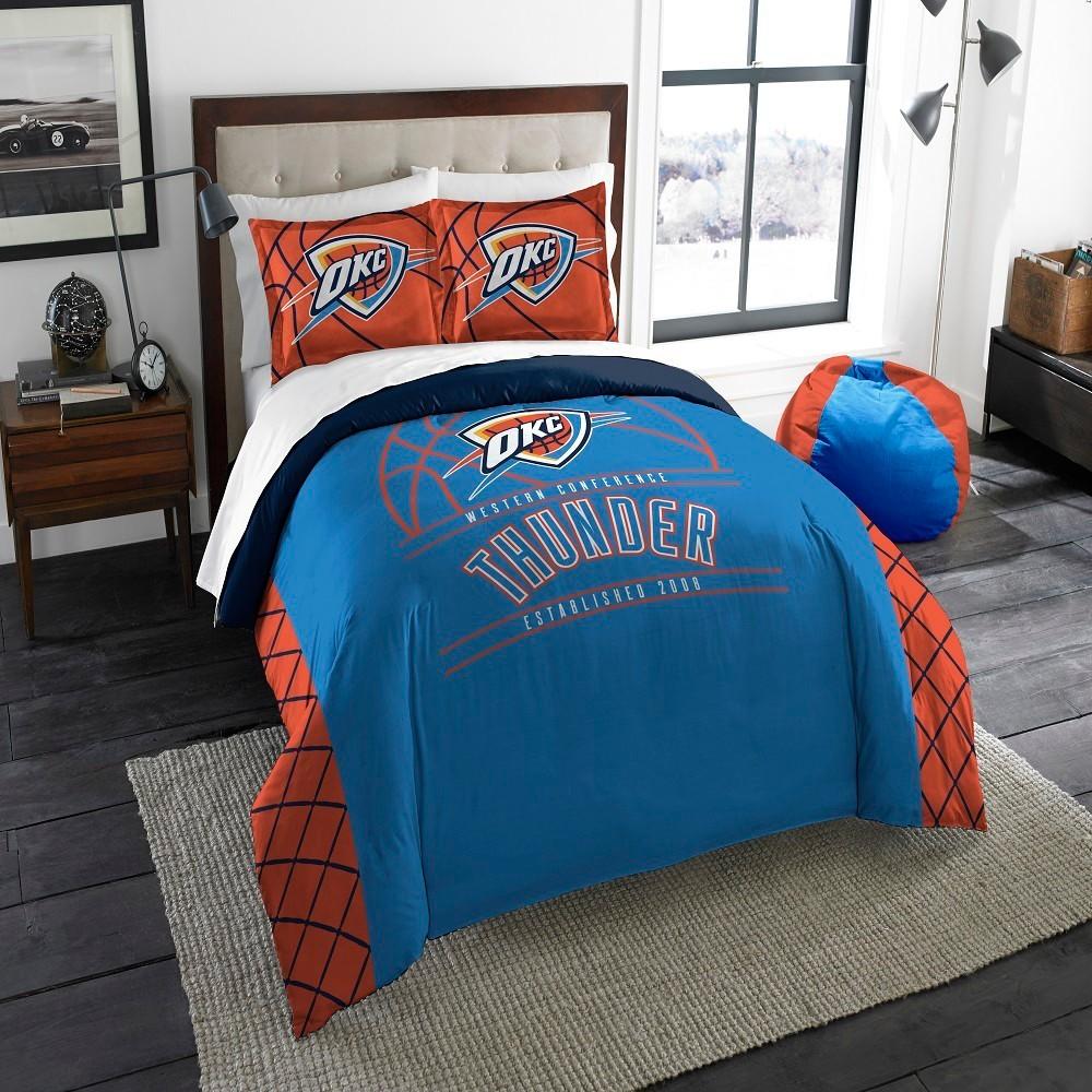 NBA Oklahoma City Thunder Northwest Reverse Slam Full/Queen Comforter Set