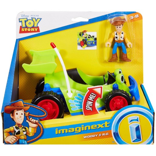 Fisher-Price Imaginext Disney Pixar Toy Story 4 Woody And R/C image number null