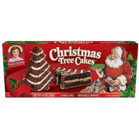 Little Debbie Christmas Tree Cakes Chocolate - 8.62oz - image 1 of 1