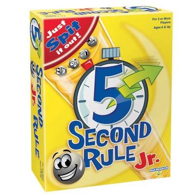 5 Second Rule Jr. Board Game
