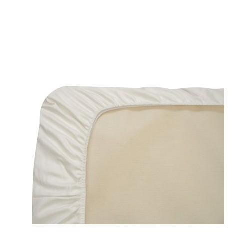 Naturepedic Organic Cotton Fitted Crib Sheet - White - image 1 of 1