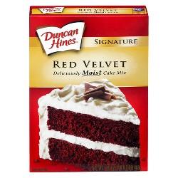 Duncan Hines Red Velvet Cake Mix - 16.5 oz