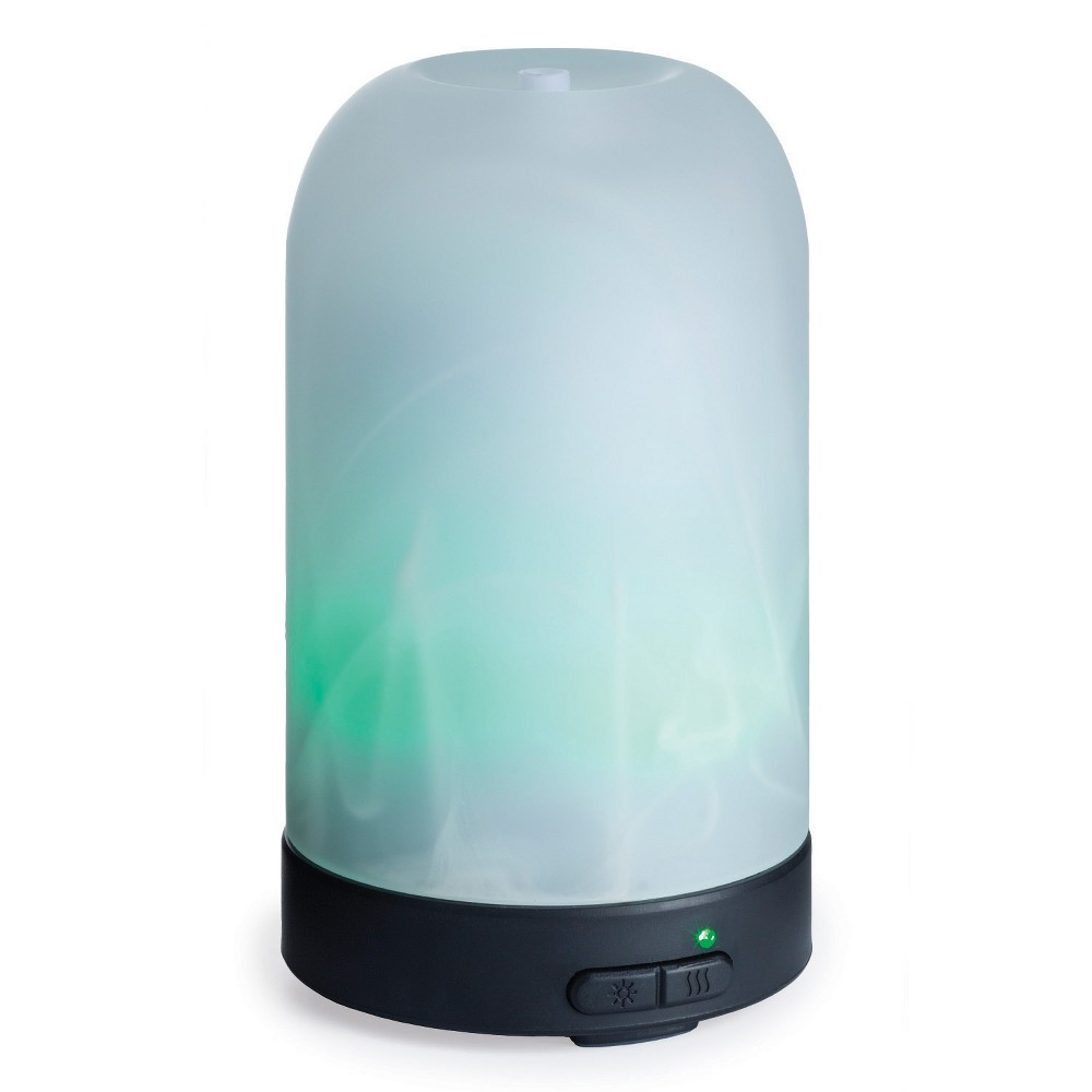 Image of Airome Ultrasonic Oil Diffuser Frosted Glass - Candle Warmers Etc., White