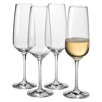 Vivo Voice by Villeroy & Boch Group Crystal Stemware 9.5oz 4pk Champagne Flutes