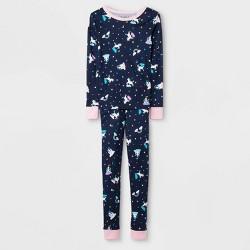 Girls' Pajama Set - Cat & Jack™ Blue