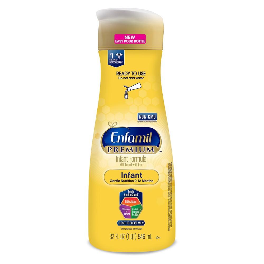 Enfamil Premium Infant Formula Ready-to-Use Liquid - 32 fl oz