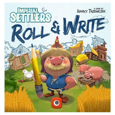 Imperial Settlers - Roll & Write Board Game