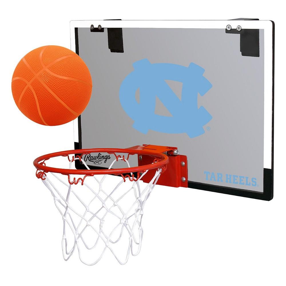 NCAA North Carolina Tar Heels RawlingsToy Basketball Set