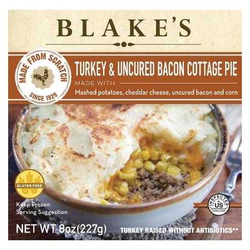 Blake's All Natural Turkey & Bacon Frozen Cottage Pie - 8oz - image 1 of 1