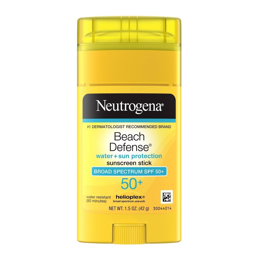 Neutrogena Beach Defense Oil Free Body Sunscreen Stick Spf 50 1 5oz