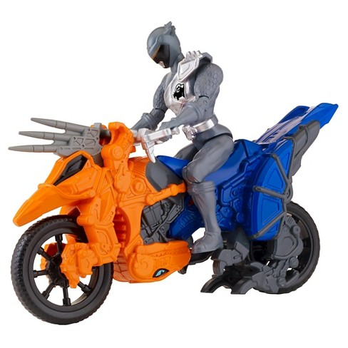 Power Rangers Dino Super Charge - Dino Cycle and Graphite Ranger - image 1 of 4