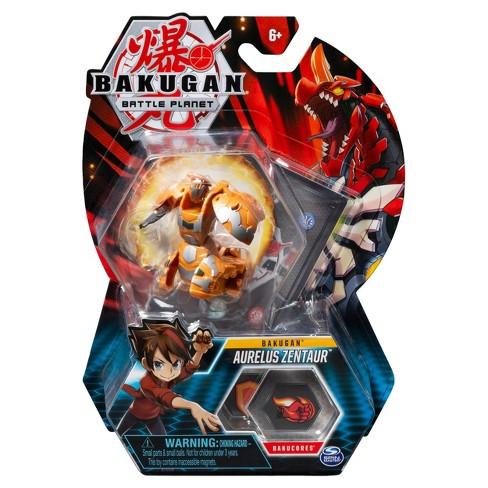 "Bakugan Aurelus Zentaur 2""Collectible Action Figure and Trading Card - image 1 of 4"