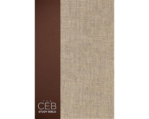 CEB Study Bible : The CEB Study Bible Vintage Tweed (Hardcover) - image 1 of 1