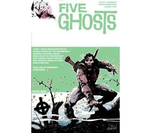 Five Ghosts 3 : Monsters & Men (Paperback) (Frank J. Barbiere) - image 1 of 1