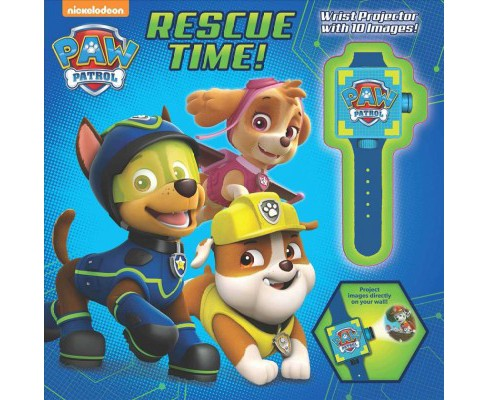 Rescue Time! : Includes Wrist Projector With 10 Images! -  by Cara Stevens (Hardcover) - image 1 of 1