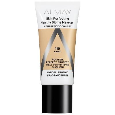 Almay Skin Perfecting Healthy Biome Foundation Makeup - 1 fl oz