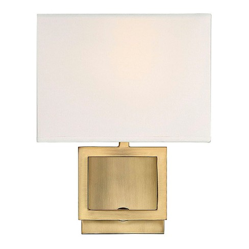 Wall Lights Natural Brass Sconce - Z-Lite - image 1 of 1