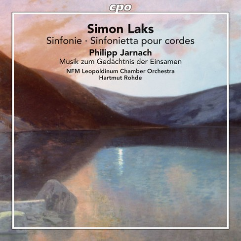 Wroclaw Chamber Orch - Laks/Jarnach:Orchestra Works (CD) - image 1 of 1