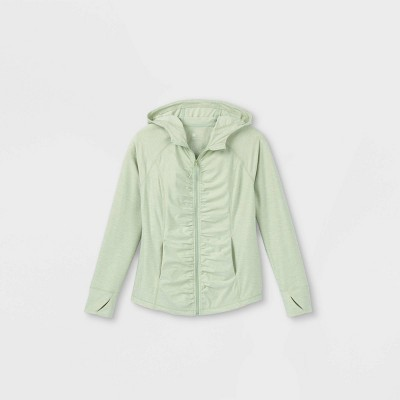 Girls' Soft Full Zip Hoodie Pullover - All in Motion™