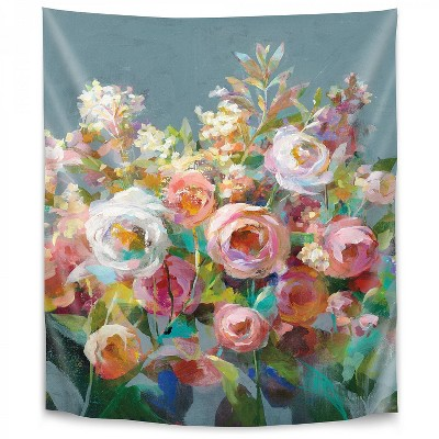 Americanflat Joy of the Garden II by Danhui Nai Wall Tapestry