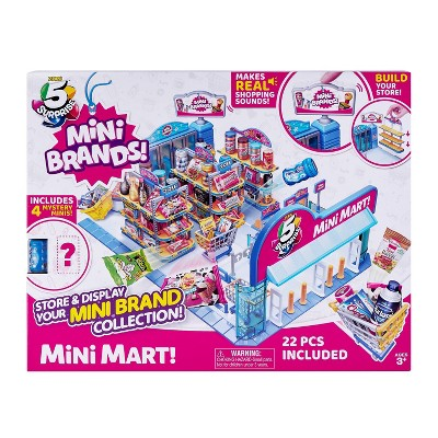 5 Surprise Mini Brands! Mini Mart with 4 Mystery Minis