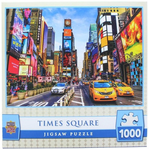 MasterPieces 1000 Piece Jigsaw Puzzle | Times Square - image 1 of 4