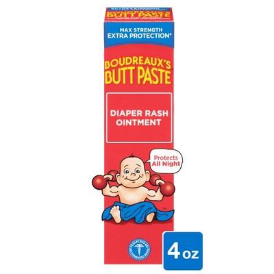Boudreaux's Butt Paste Maximum Strength Diaper Rash Ointment - 4oz