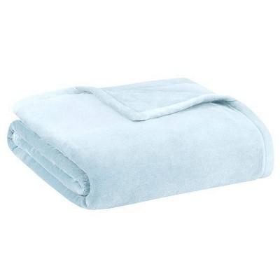 Ultra Premium Plush Blanket (King) Blue