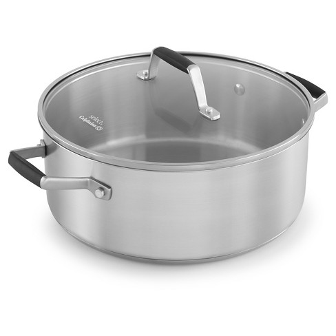 Select by Calphalon 5qt Stainless Steel Dutch Oven - image 1 of 4