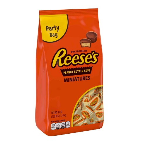 Reese's Peanut Butter Cups Miniatures - 40oz - image 1 of 8