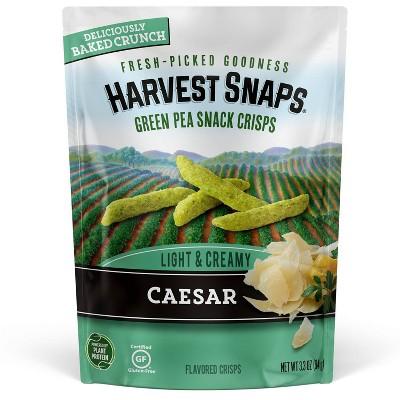 Harvest Snaps Green Pea Snack Crisps Caesar - 3.3oz