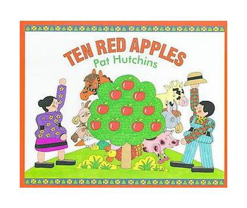 Ten Red Apples (Hardcover) (Pat Hutchins) - image 1 of 1