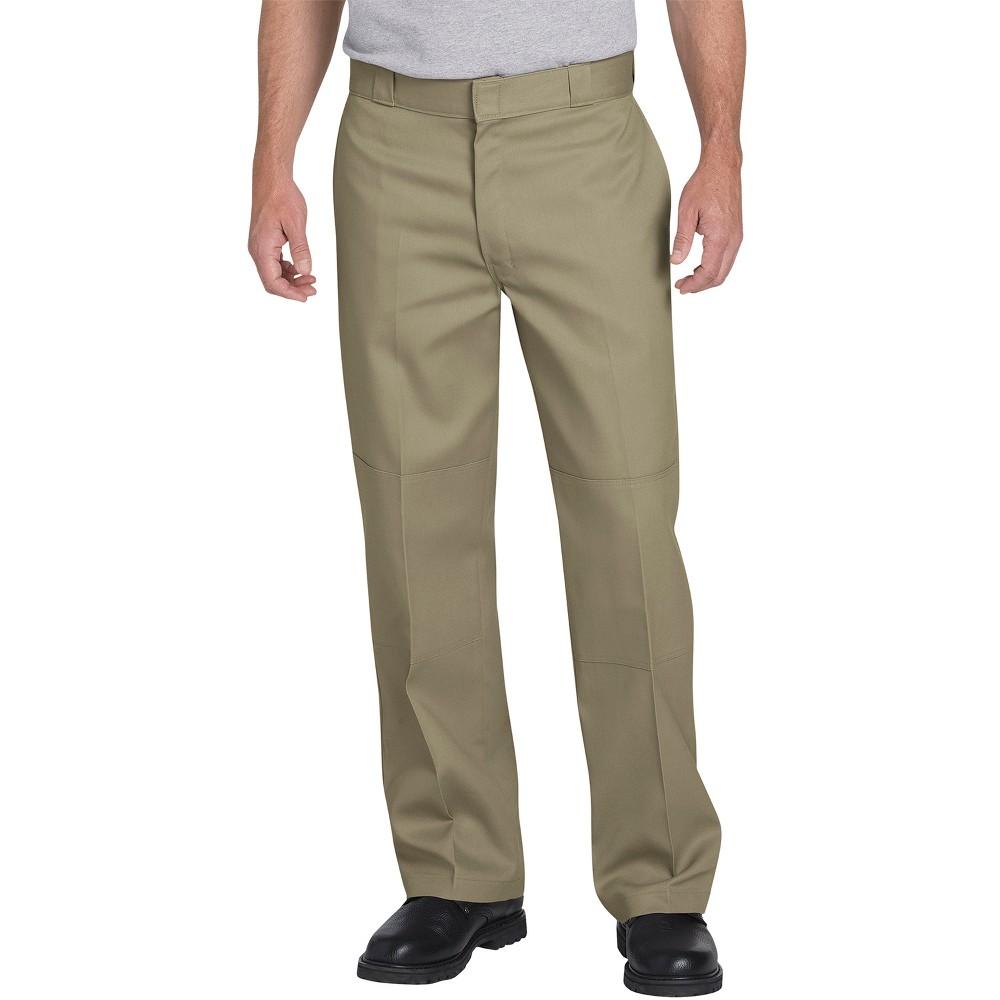 Dickies Men's Flex Loose Straight Fit Double Knee Work Pants - Desert Tan 30x32