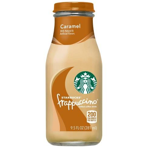 30db029b1c83 Starbucks Frappuccino Caramel Chilled Coffee Drink - 4pk/9.5 fl oz Glass  Bottles
