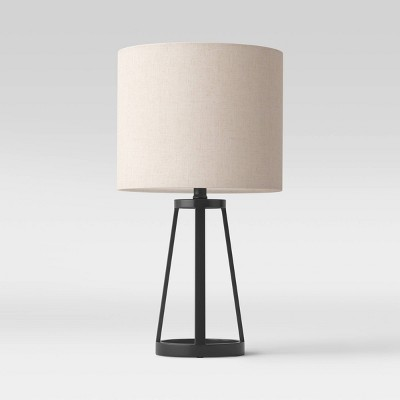 Medium Modern Industrial Assembled Table Lamp Black - Threshold™