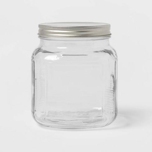 32oz Glass Jar and Metal Lid - Threshold™ - image 1 of 3
