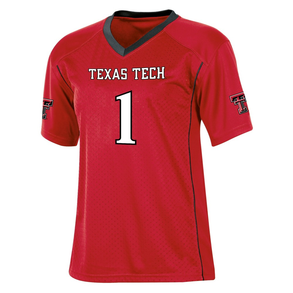Texas Tech Red Raiders Boys Short Sleeve Replica Jersey S, Multicolored
