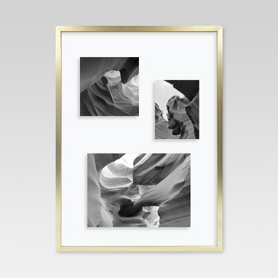 11 x15  Gallery Float Frame Brass - Project 62™