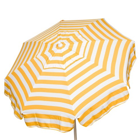6 Italian Aluminum Collar Tilt Patio Umbrella Parasol Target