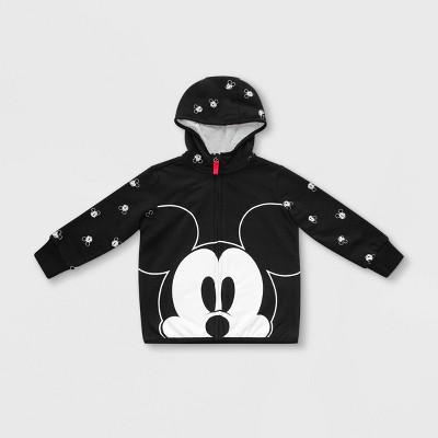 Boys' Disney Mickey Mouse Zip-Up Hoodie - Black - Disney Store
